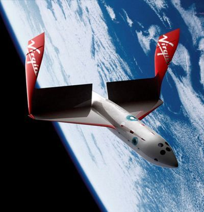 Space Ship II - Virgin Galactic