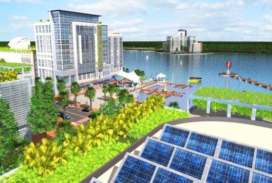 primera ciudad solar en Florida
