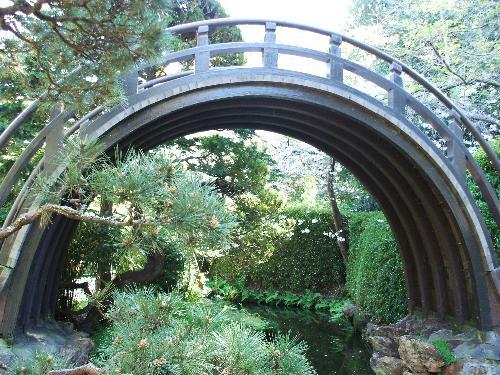 Golden Gate Park - Japanese Tea Garden Half Moon Bridge