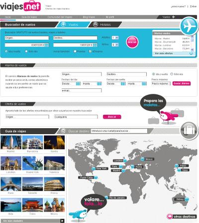 Cambio de imagen de Viajesnet