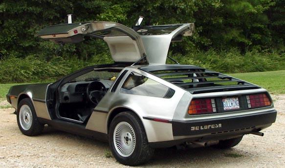 Mejores coches de peliculas - Página 2 DeLorean
