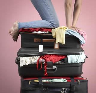 Faire sa valise ce n'est pas chose facile !