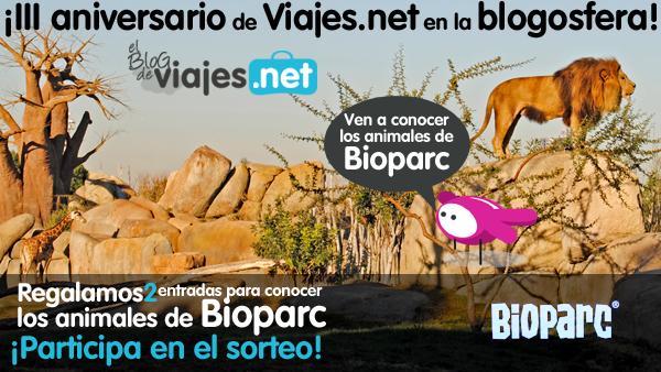 sorteo entradas bioparc