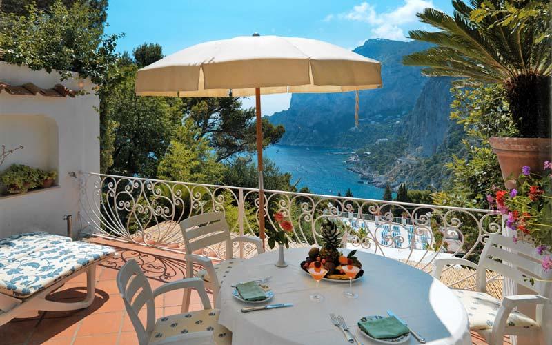Hotel Con Vista En Capri Hotel Tragara Y Villa Brunella