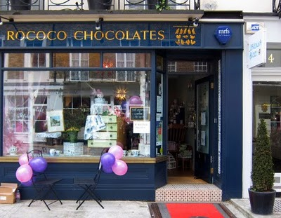 chocolate en Londres