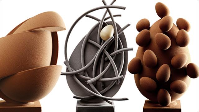 Colección Huevos de Pascua 2012.