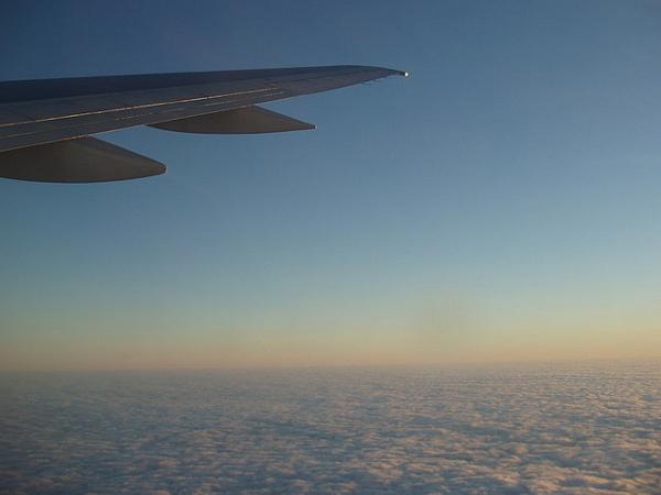 Avión volar