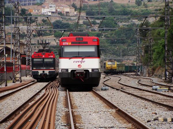 trenes de renfe huelga general