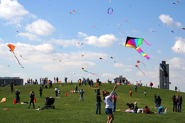 The Mayor's Kids and Kites Festival