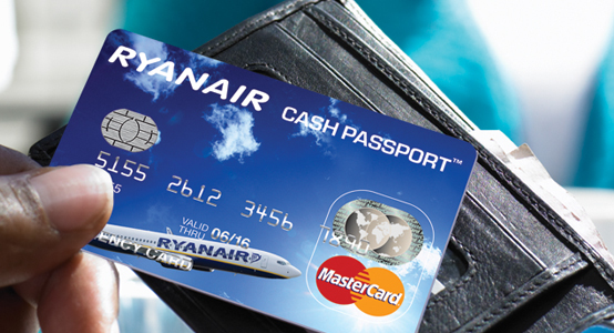 ryanair cash passport