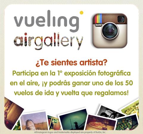 Vueling + Instagram