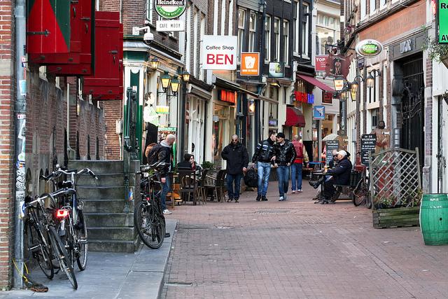coffee shop en Holanda