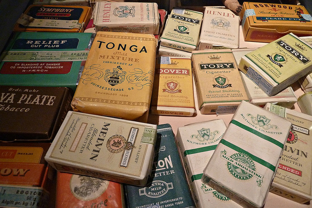 diferentes tipos de tabaco