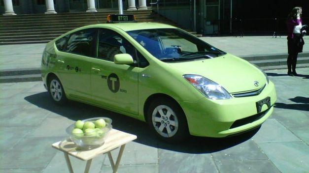 taxi verde en nueva york