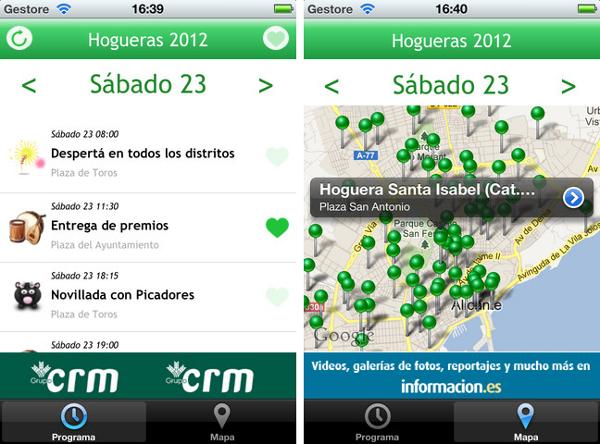 Hogueras de San Juan Alicante 2012
