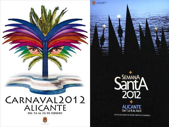 carnaval y semana santa en Alicante 2012