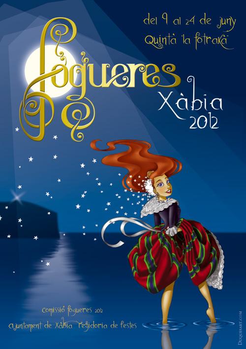 fogueres Xabia 2012