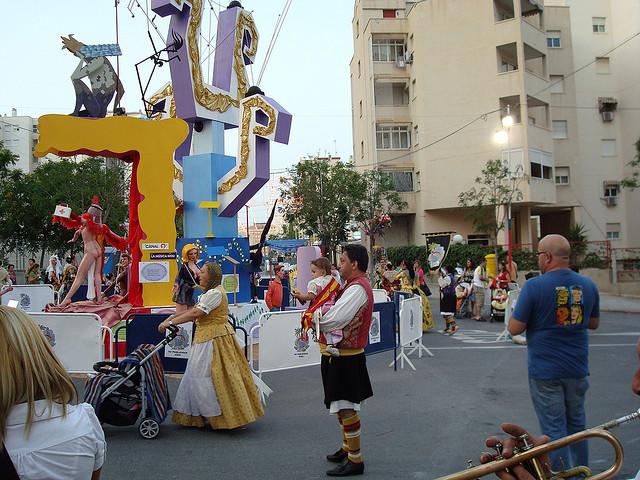 Hogueras San Juan Alicante
