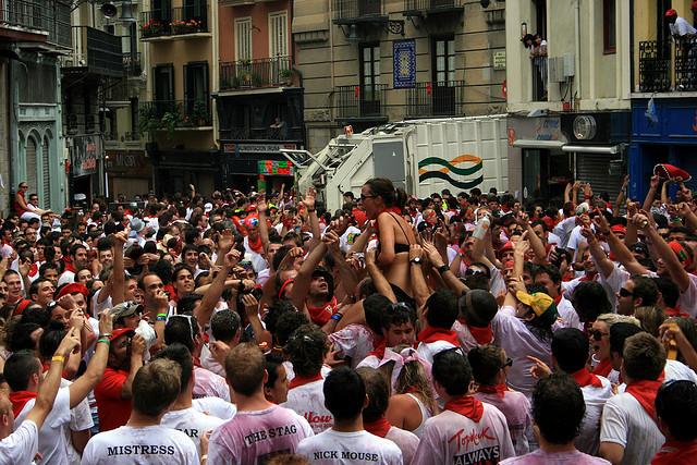 chupinazo Pamplona