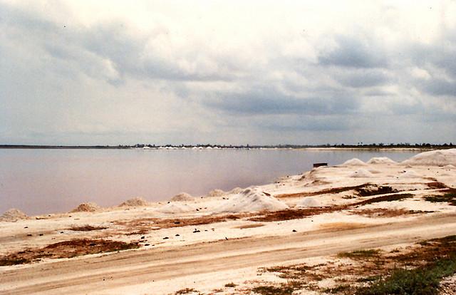 lago rosa de Dakar