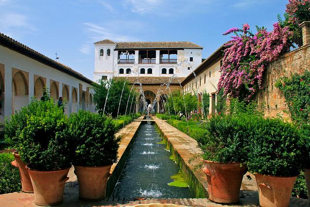 patio de la acequia Alhambra