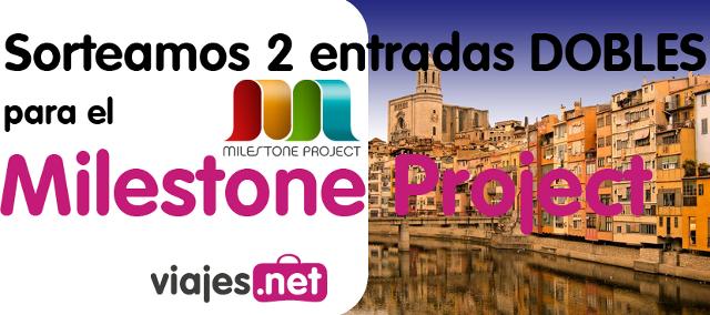 Sorteo de entradas Milestone projecto julio 2012