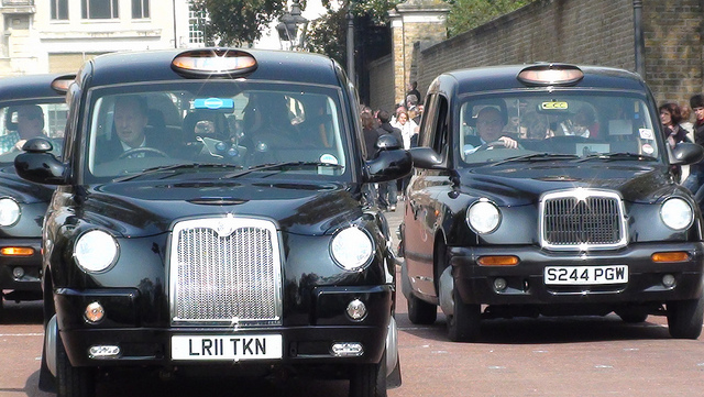Taxi en Londres