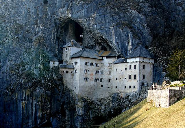Predjamski grad castillo Eslovenia