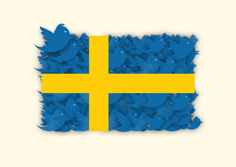 videoconferencia tuiteros Suecia