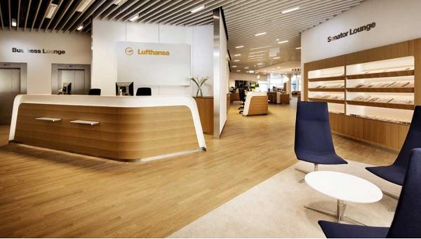 lounge de Lufthansa