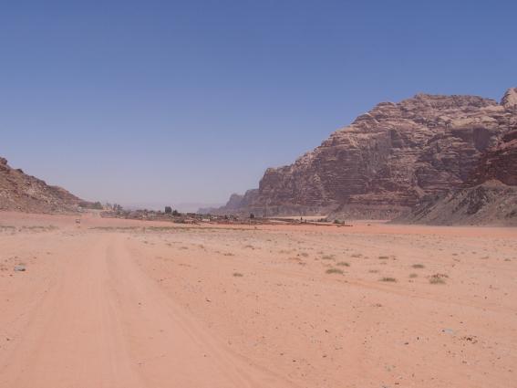 valle de la luna en Jordania