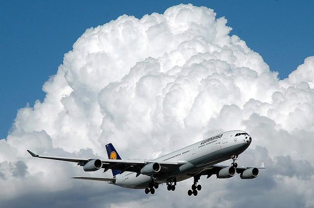 avion de lufthansa