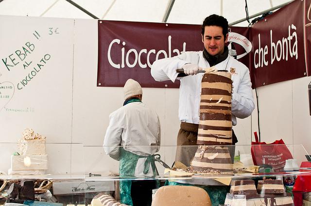 festival del cioccolato en Florencia