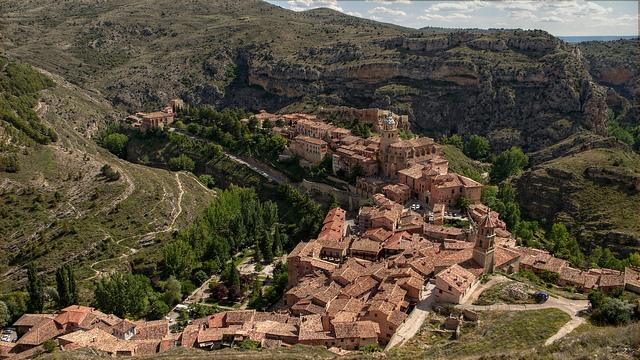 Albarracín pueblo de Aragón