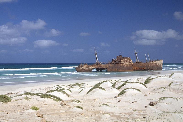 playas de Cabo Verde