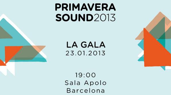 Primavera Sound 2013 festival