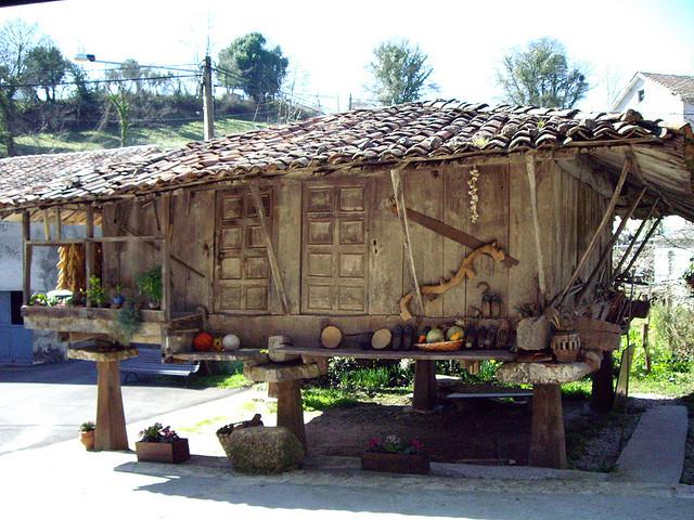 hórreo en Asturias