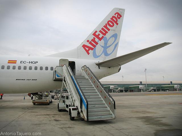 trucos viajar en avión