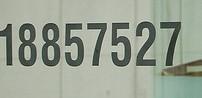 numeros negro