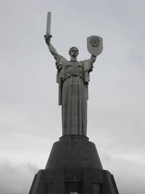 Monumentos Kiev La Madre Patria