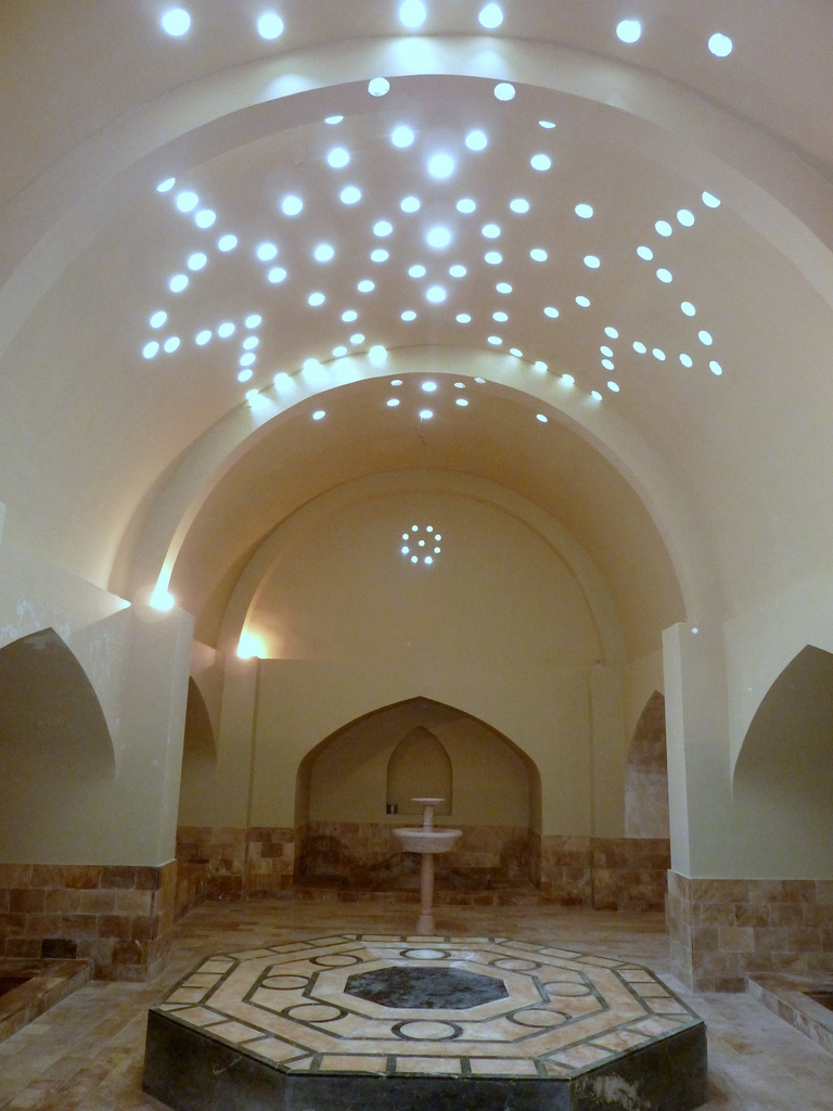 Baño Turco Arquitectura:en realidad la costumbre de los baños de vapor es más europea que